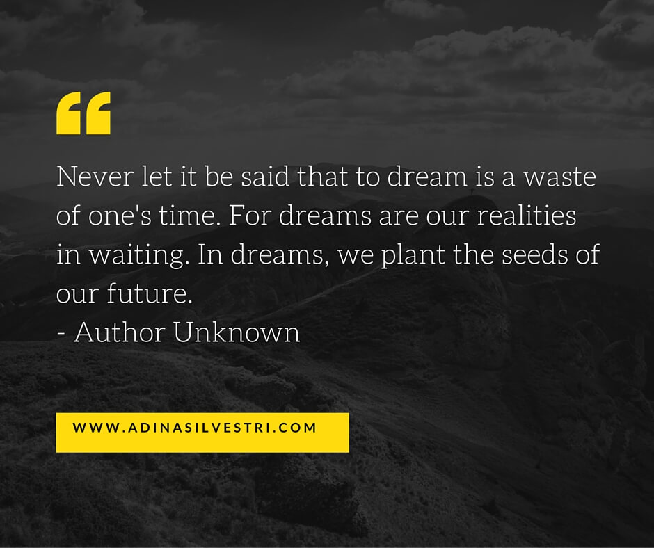 quote of the day plant the seeds adina silvestri