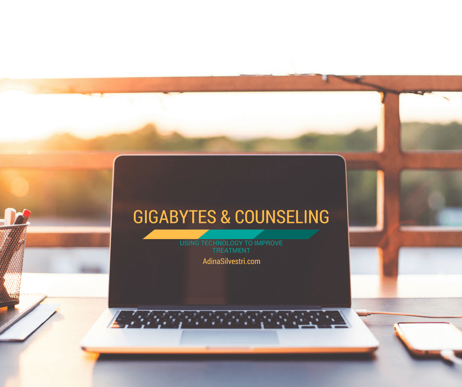 GIGABYTES & COUNSELING: using technology to improve treatment