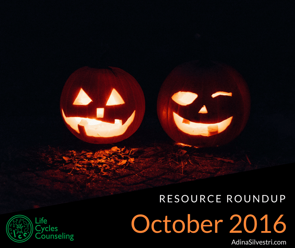 October Resource Roundup