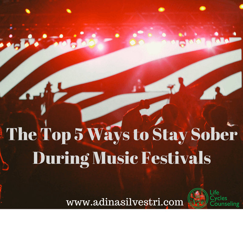 www.adinasilvestri.com sobriety and music festivals blog