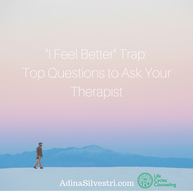 adinasilvestri.com I feel better trap blog