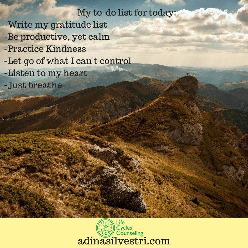 adinasilvestri.com quote of the day to do list
