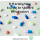 adinasilvestri.com warning signs of addiction blog