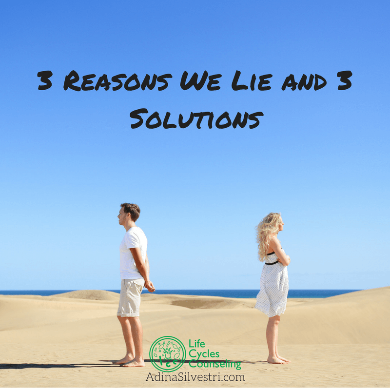 adinassilvestri.com 3 reasons we lie and 3 solutions blog