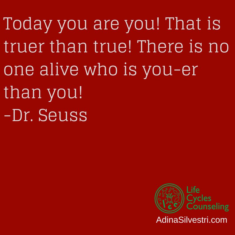 adinasilvestri.com quote of the day Dr. Seuss