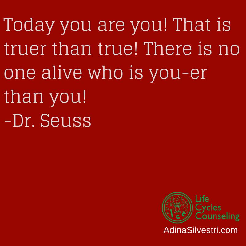 adinasilvestri.com quote of the day Dr. Seuss