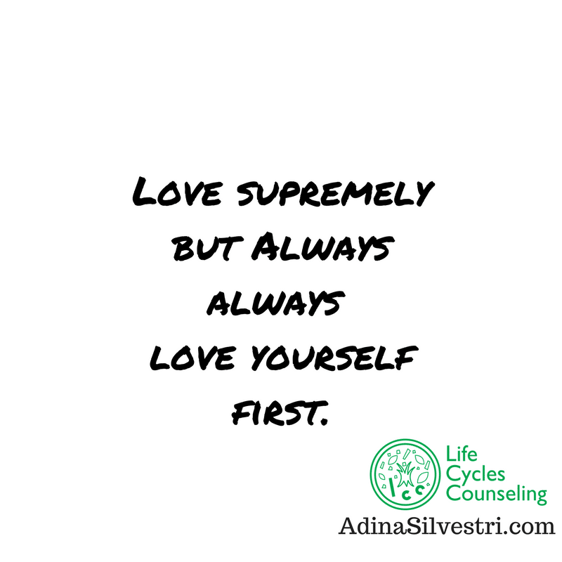 adinasilvestri.com quote of the day love supremely