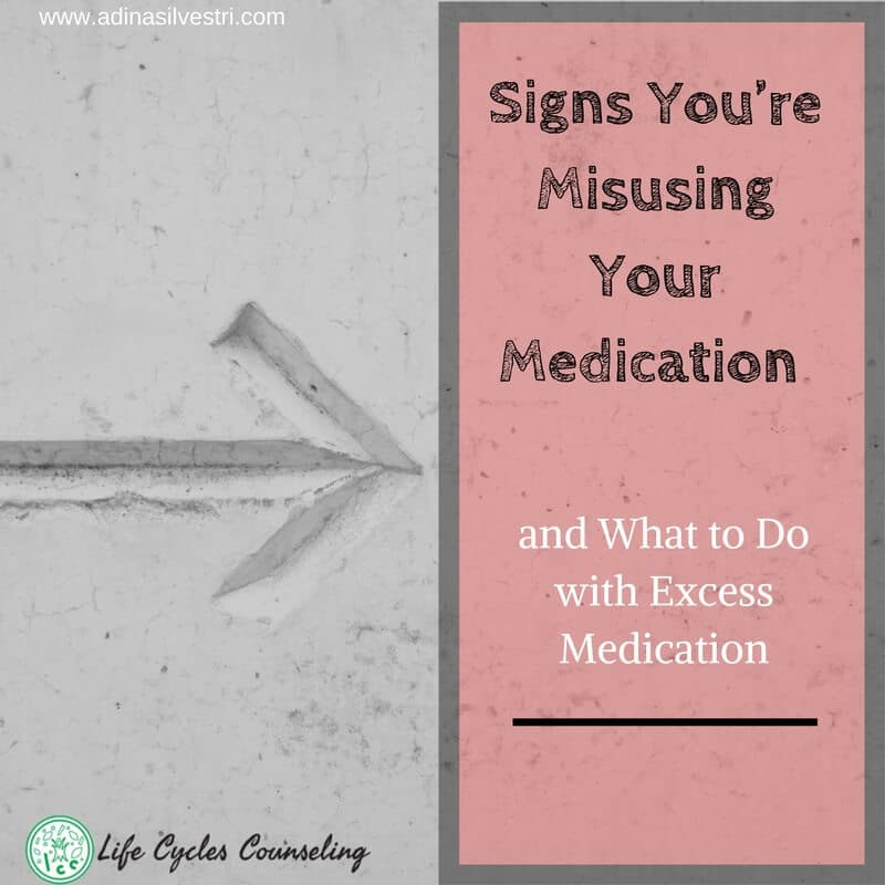Signs You're Misusing Your Medication