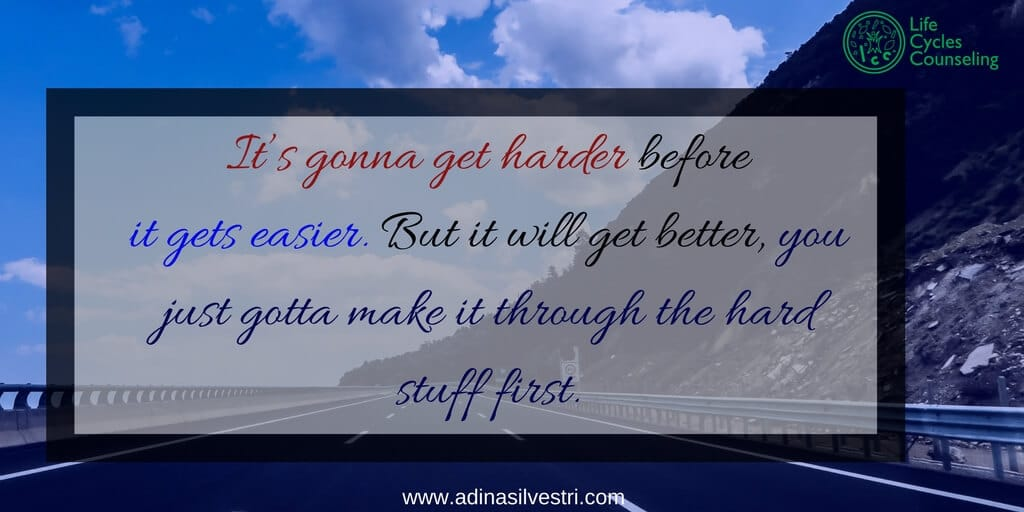 www.adinasilvestri.com quote of the day the hard stuff first