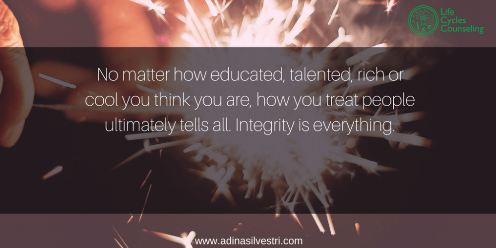 www.adinasilvestri.com quote of the day integrity