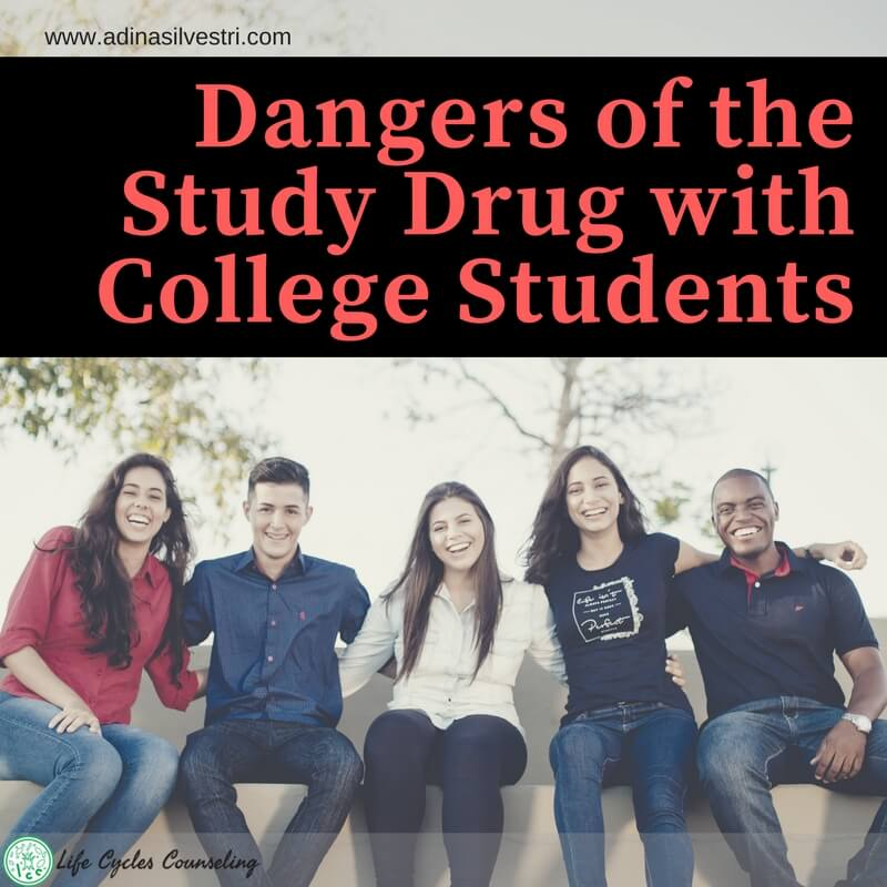 Dangers of the Study Drug with College Students