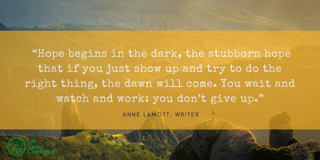 adinasilvestri.com quote of the day Hope