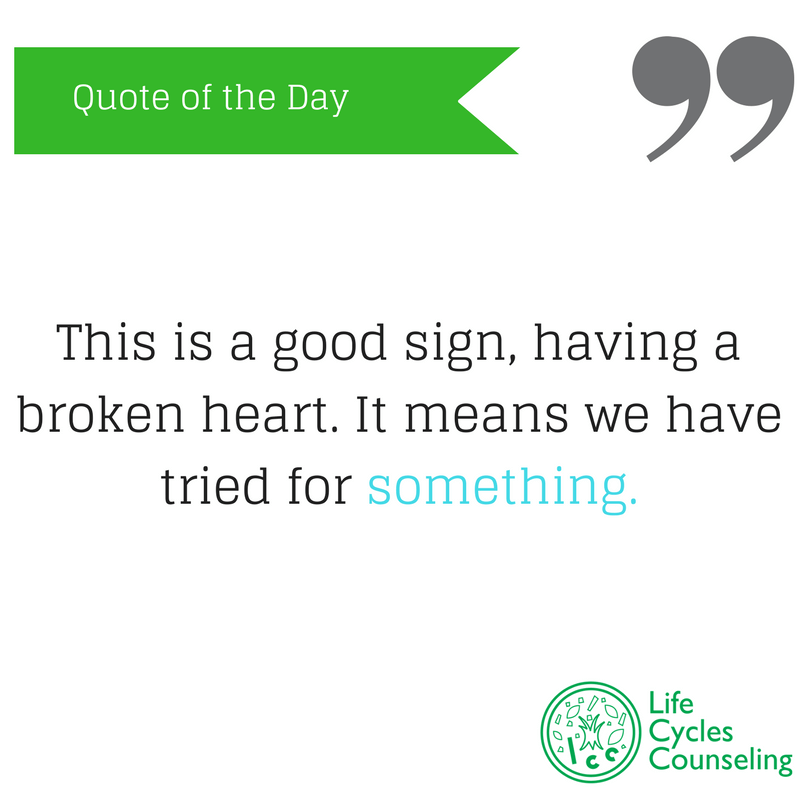 adinasilvestri.com quote of the day broken heart
