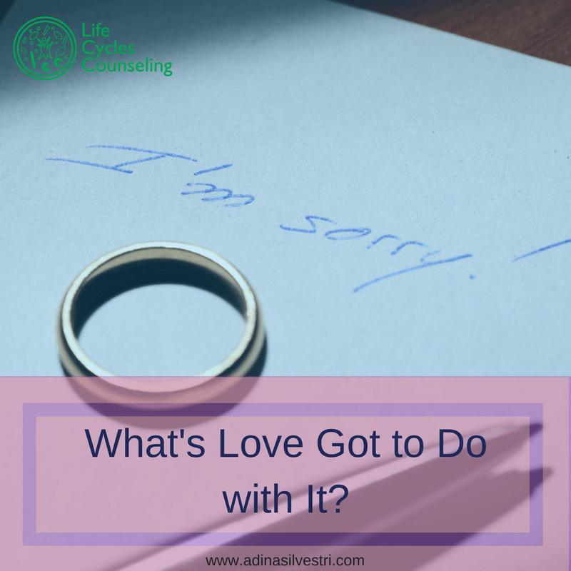 www.adinasilvestri.com What's Love Got to Do with it?