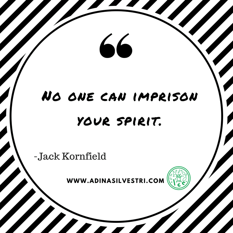 Quote of the day: Your Spirit.
