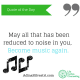 adinasilvestri.com quote of the day become music again
