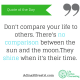 adinasilvestri.com quote of the day no comparison