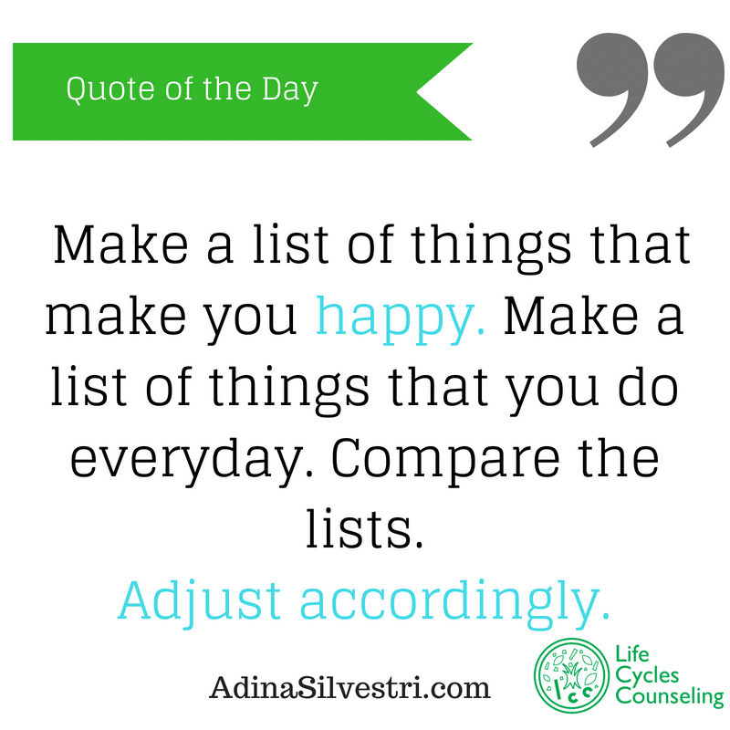 adinasilvestri.com quote of the day adjust accordingly