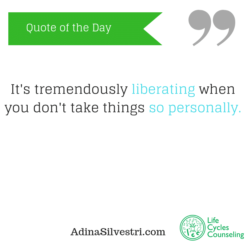adinasilvestri.com quote of the day liberate yourself