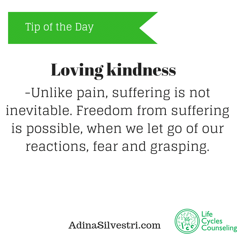 adinasilvestri.com tip of the day Lovingkindness