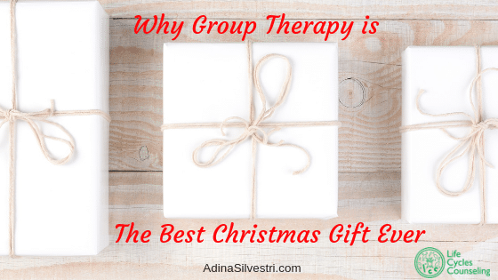 Image of 3 presents, Why Group Therapy is The Best Christmas Gift Ever blog