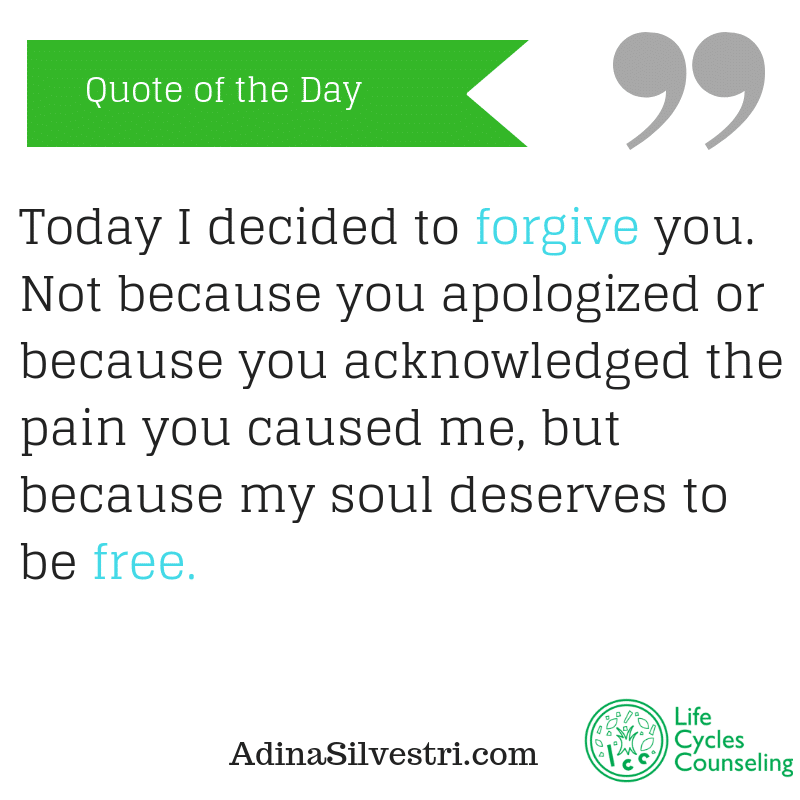 adinasilvestri.com quote of the day to be free