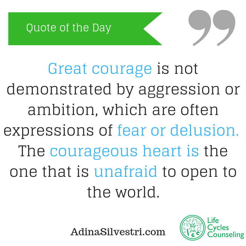 adinasilvestri.com quote of the day great courage