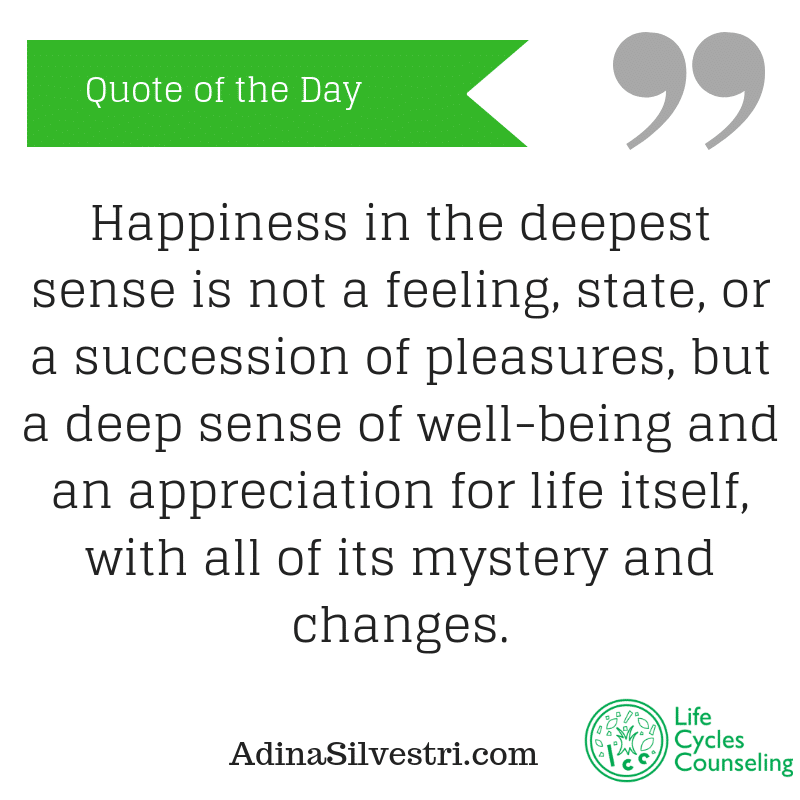 adinasilvestri.com happiness in the deepest sense