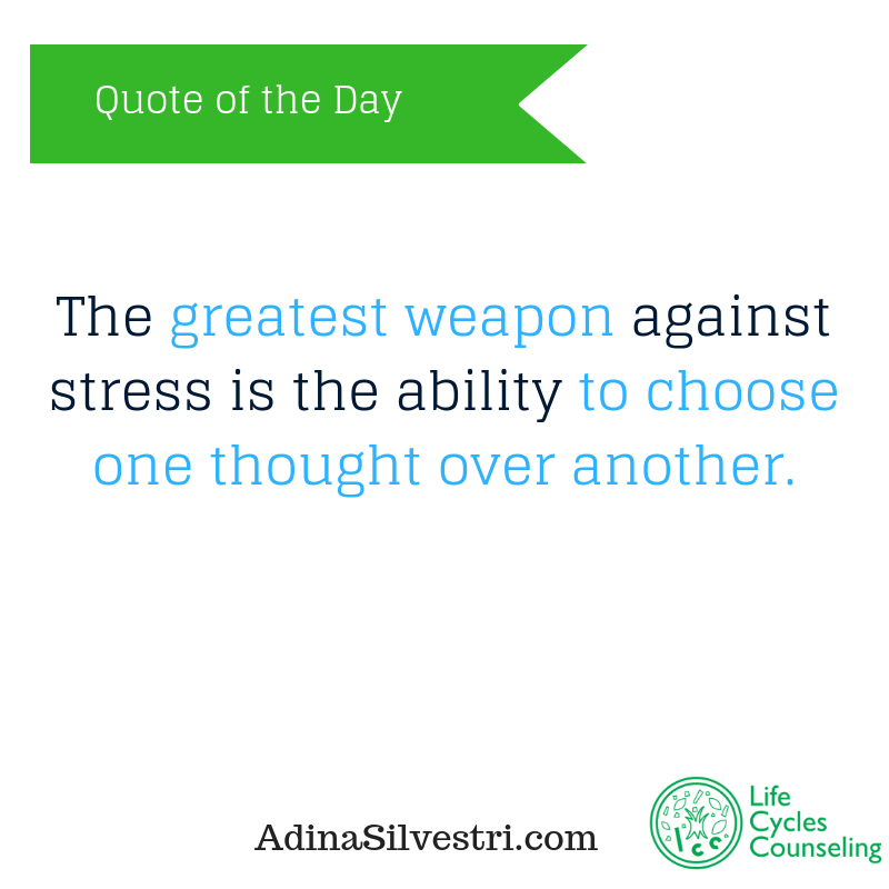 adinasilvestri.com quote of the day the greatest weapon