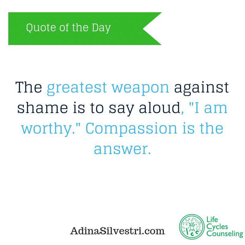 adinasilvestri.com quote of the day Compassion