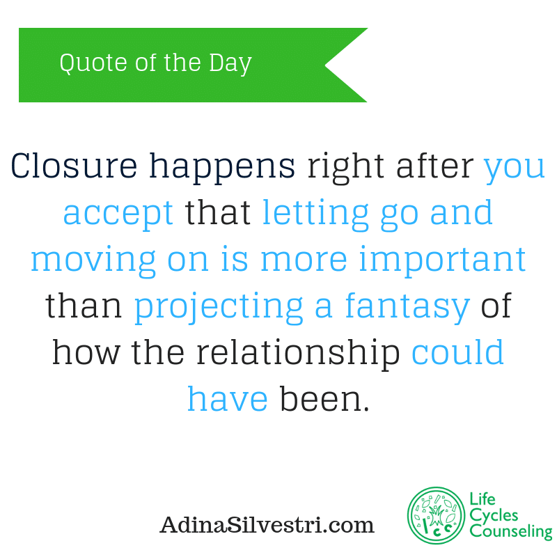adinasilvestri.com quote of the day closure