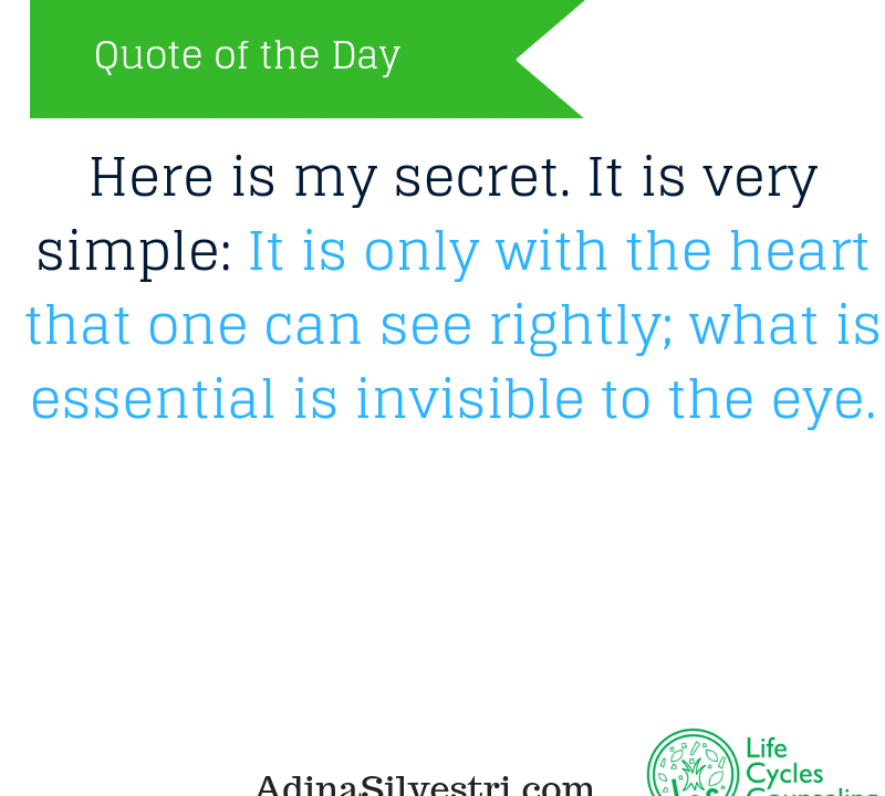 adinasilvestri.com quote of the day my secret