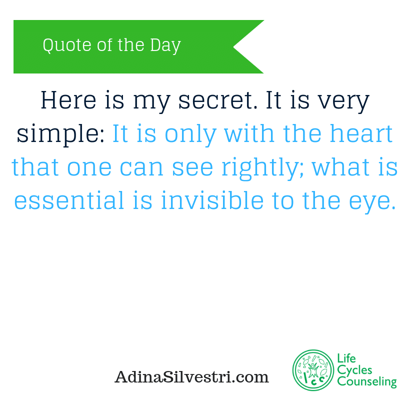 adinasilvestri.com quote of the day my secret