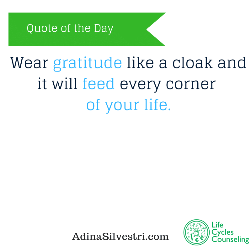 adinasilvestri.com quote of the day gratitude
