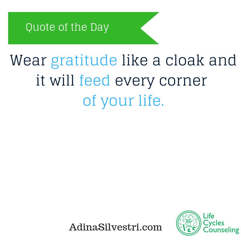 adinasilvestri.com quote of the day gratitude