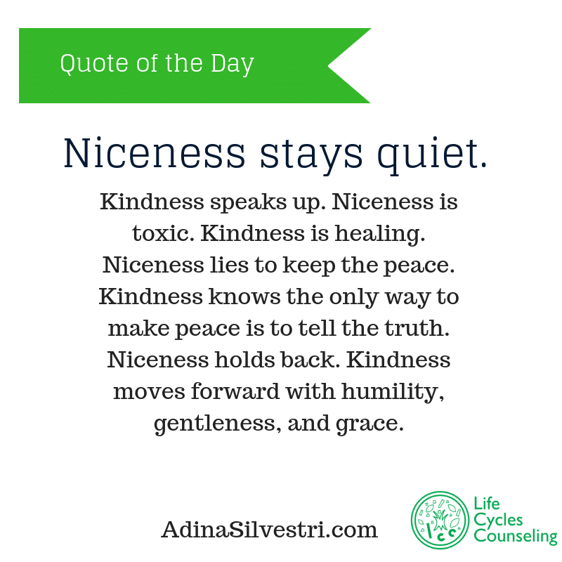 adinasilvestri.com quote of the day no more nice guy