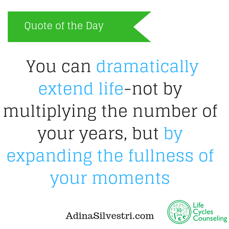adinasilvestri.com quote of the day daily life
