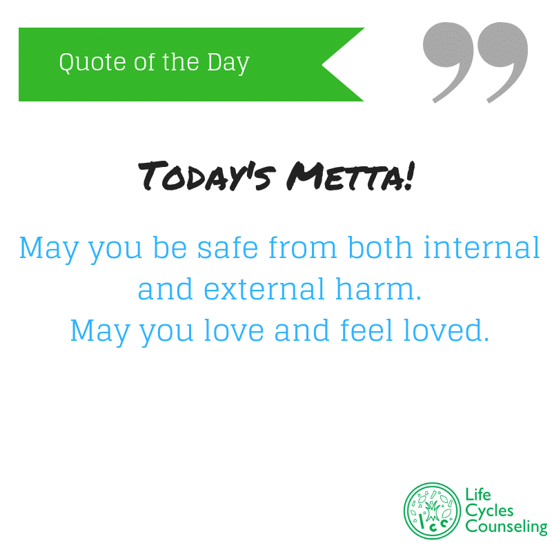 adinasilvestri.com quote of the day Todya's Metta
