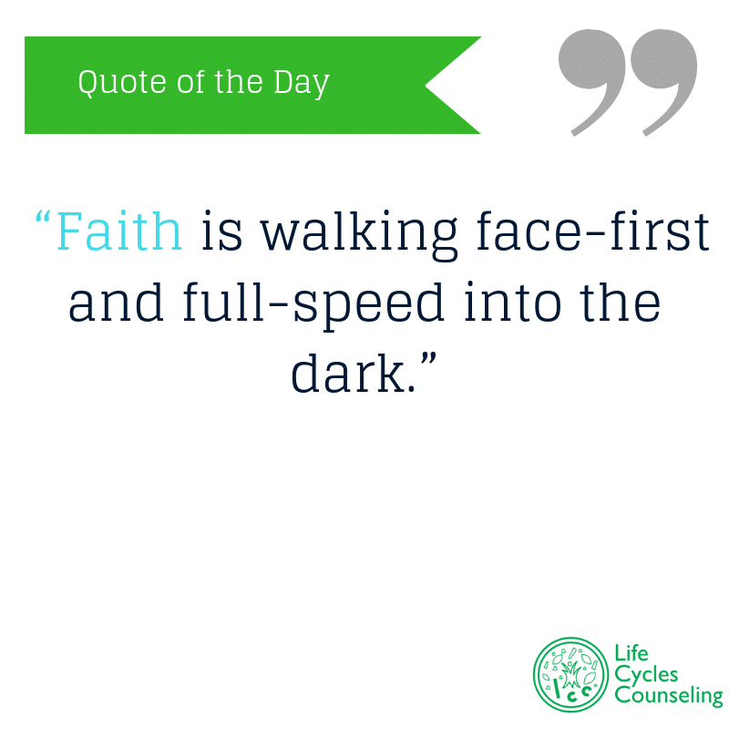 adinasilvestri.com quote of the day Faith