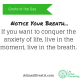 adinasilvestri.com quote of the day Notice Your Breath