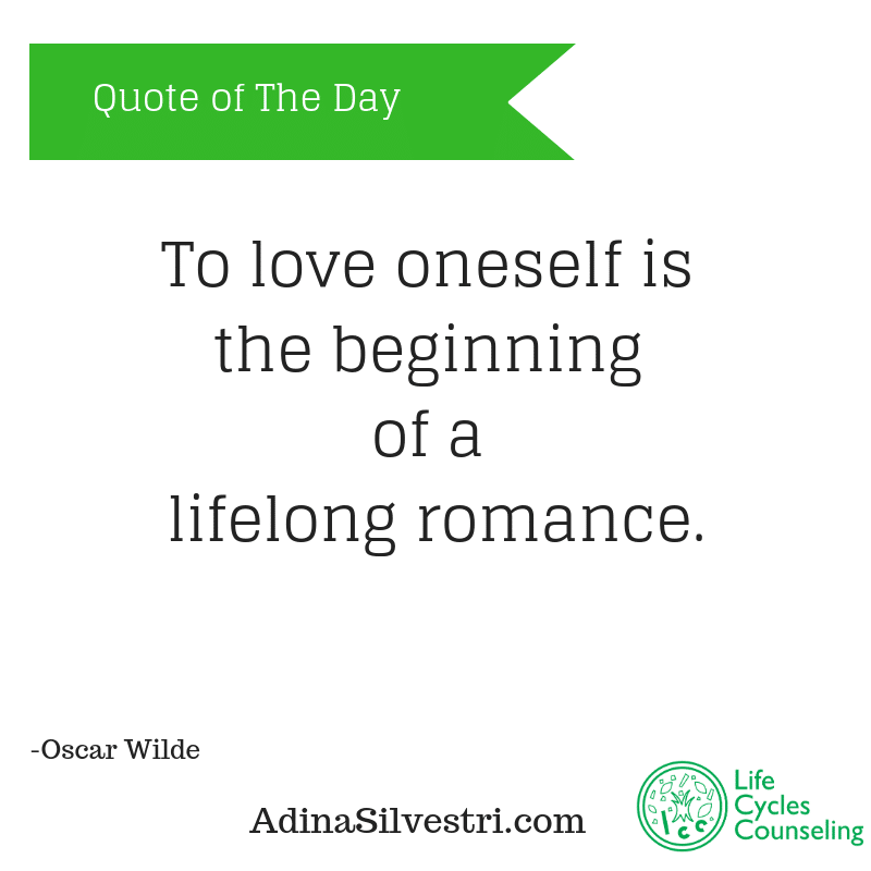 adinasilvestri.com quote of the day self-love