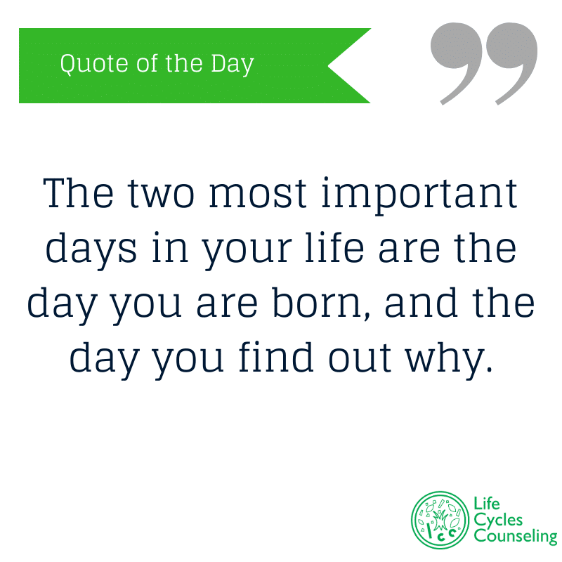 adinasilvestri.com quote of the day the two most important days