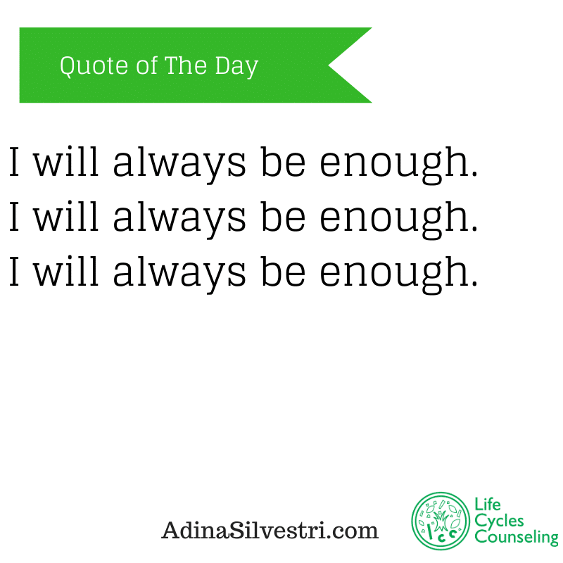 image of adinasilvestri.com quote of the day