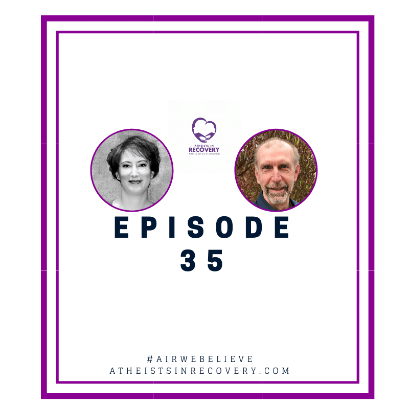 image of atheists in recovery podcast Episode 35