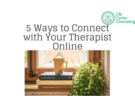 image of adinasilvestri.com online therapy