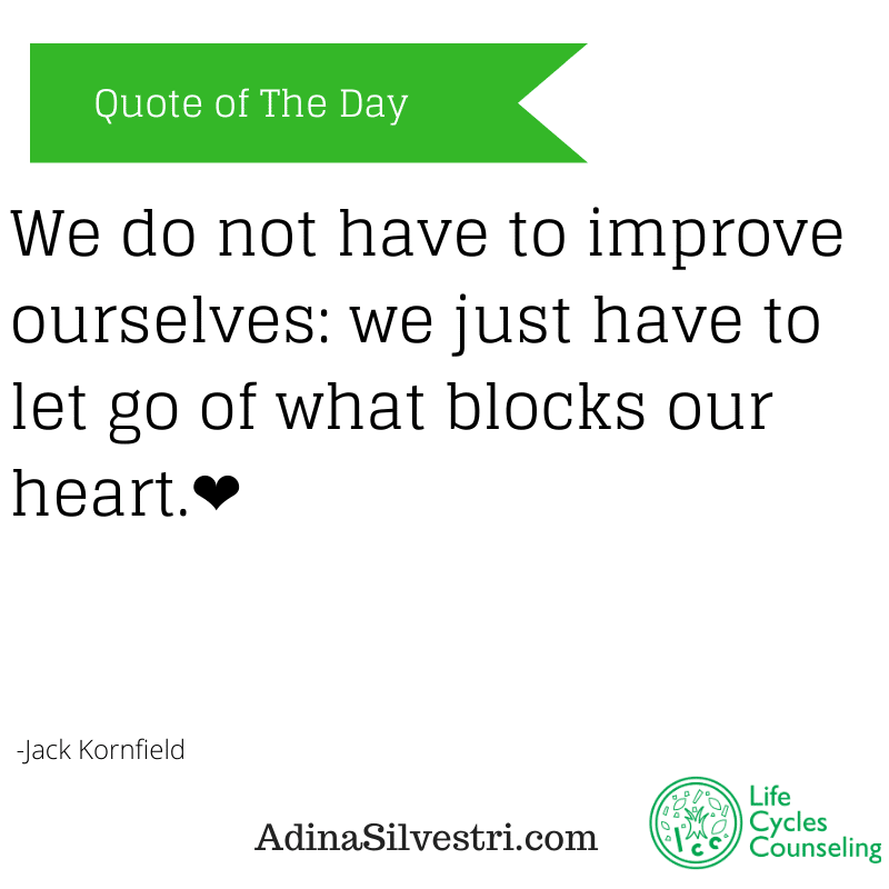 adinasilvestri.com quote of the day our heart