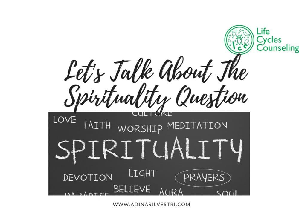 image of adinasilvestri.com lets talk about the spirituality question