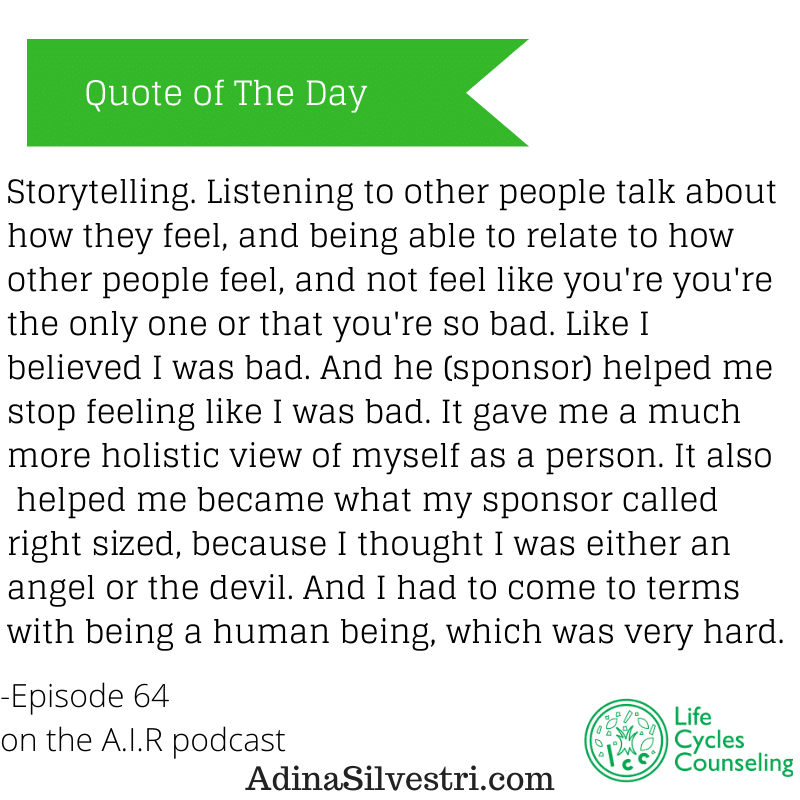 adinasilvestri.com quote of the day Episode 64