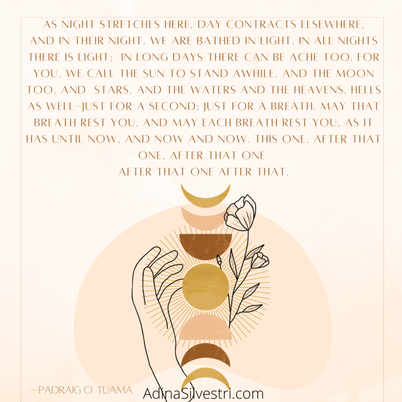 image of A Solstice Blessing quote