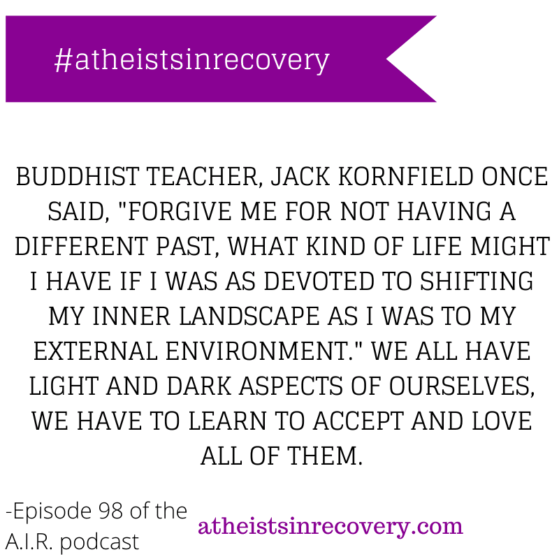 atheists in recovery podcast quote of the day